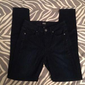 PAIGE Hoxton High Waist Ultra Skinny jeans 25
